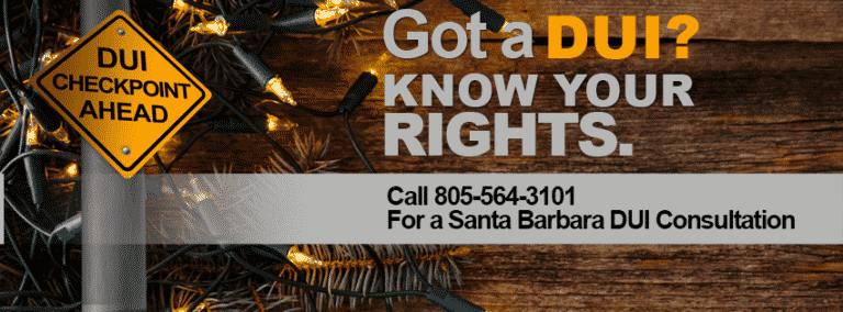 Got A Dui Over The Holidays? Know Your Rights.